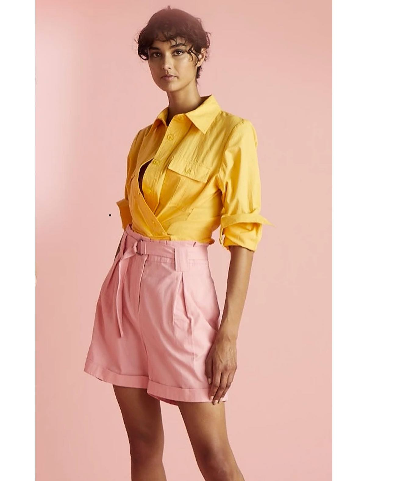 Pink Gumnut Shorts