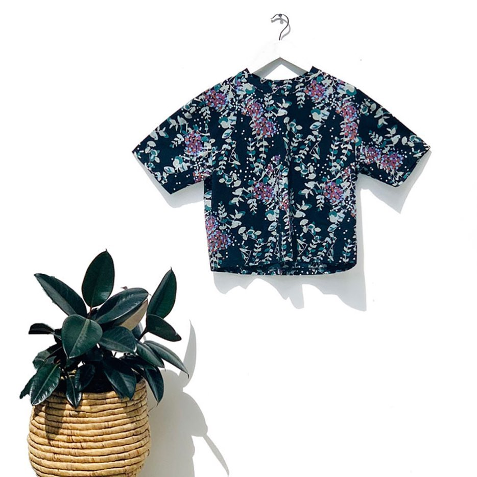Bloom Tee Black