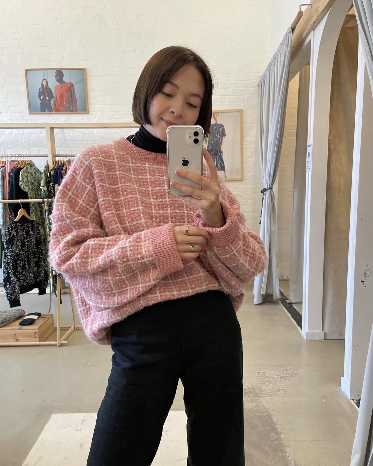 Rubix Cube Oversize Knit