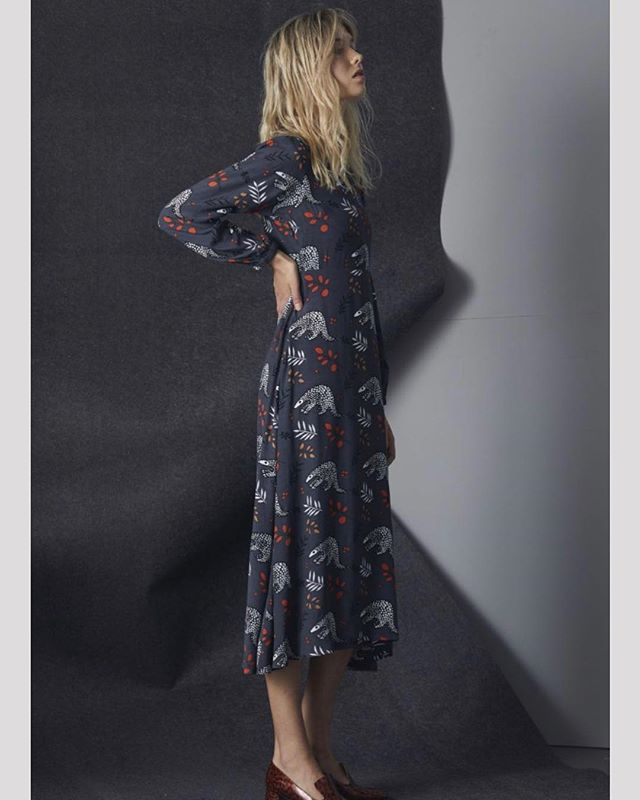 V Neck Janis Dress