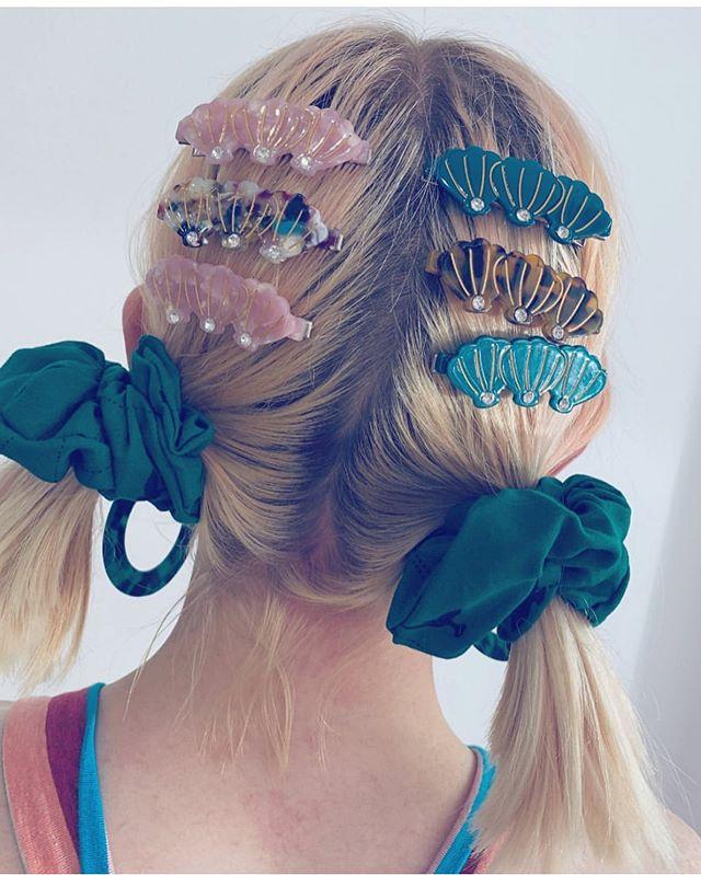 Seashell Hair Clip